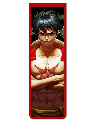 Marcador De Página Magnético Monkey D. Luffy - One Piece - MAN544