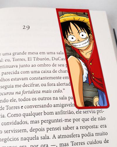 Marcador De Página Magnético Monkey D. Luffy - One Piece - MAN545