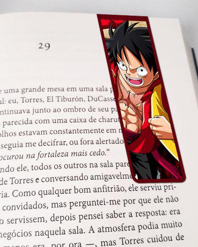 Marcador De Página Magnético Monkey D. Luffy - One Piece - MAN615