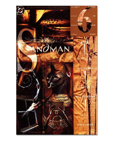 Ímã Decorativo Capa de Quadrinhos Sandman - CQD121