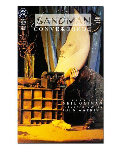 Ímã Decorativo Capa de Quadrinhos Sandman - CQD124