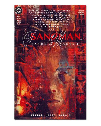 Ímã Decorativo Capa de Quadrinhos Sandman - CQD130
