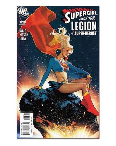 Ímã Decorativo Capa de Quadrinhos Supergirl - CQD146