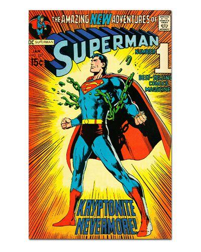 Ímã Decorativo Capa de Quadrinhos Superman - CQD151