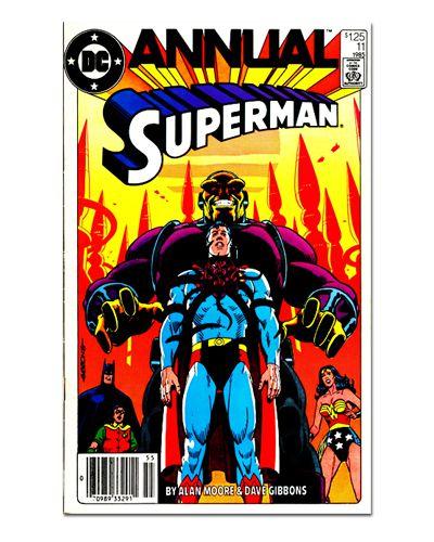 Ímã Decorativo Capa de Quadrinhos Superman - CQD153