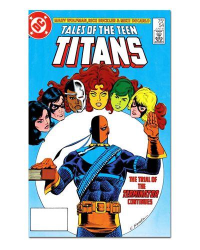 Ímã Decorativo Capa de Quadrinhos Teen Titans - CQD167