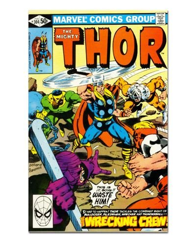 Ímã Decorativo Capa de Quadrinhos Thor - CQM186
