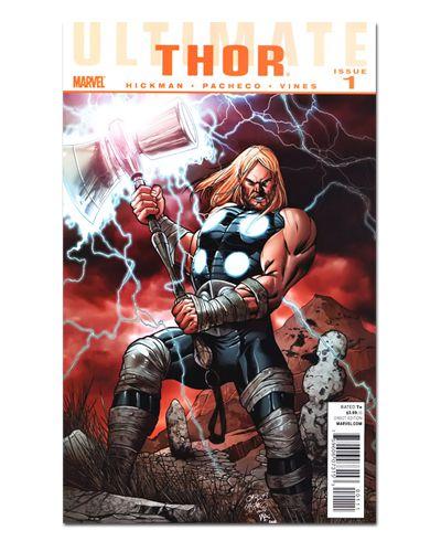 Ímã Decorativo Capa de Quadrinhos Thor - CQM187