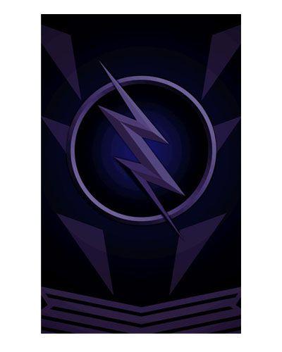 Ímã Decorativo Zoom - The Flash - IQD17