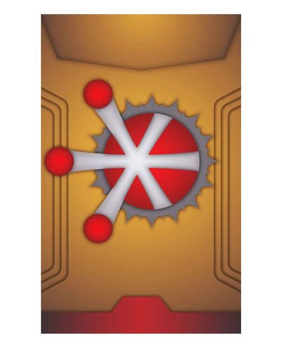 Ímã Decorativo Nuclear - Legends of Tomorrow - IQD23