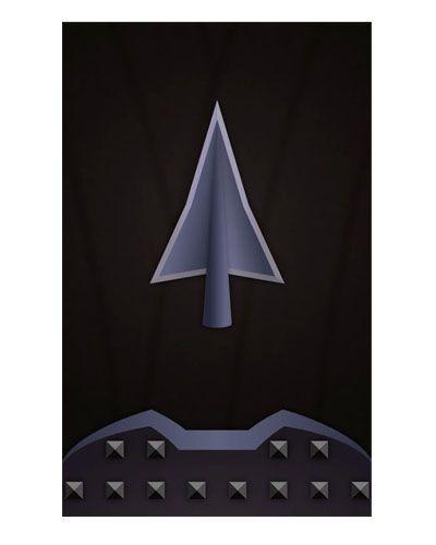 Ímã Decorativo Dark Archer - Legends of Tomorrow - IQD31