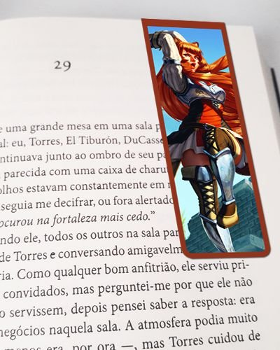 Marcador De Página Magnético Raphtalia - The Rising of the Shield Hero - MAN698