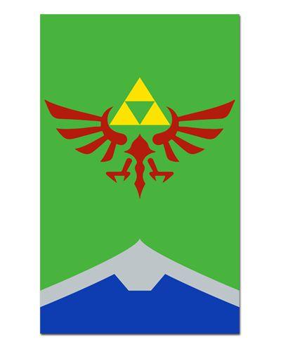 Ímã Decorativo Triforce - The Legend of Zelda - IGA01