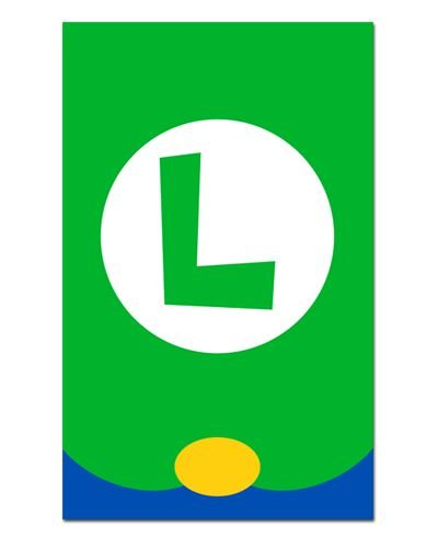 Ímã Decorativo Luigi - Super Mario - IGA04