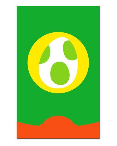 Ímã Decorativo Yoshi - Super Mario - IGA05