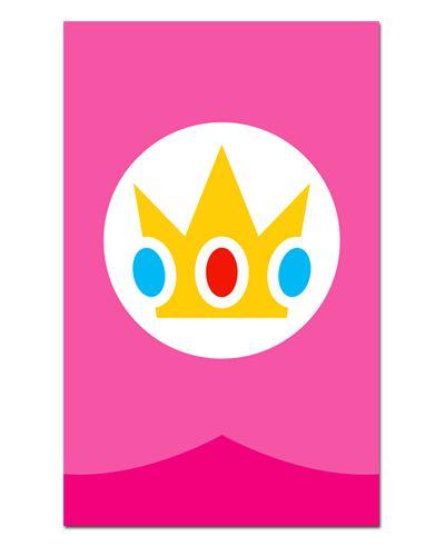 Ímã Decorativo Princesa Peach - Super Mario - IGA06
