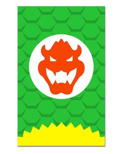 Ímã Decorativo Bowser Koopa - Super Mario - IGA07