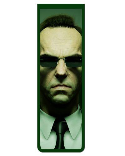 Marcador De Página Magnético Agente Smith - Matrix - MFI139
