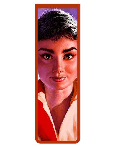 Marcador De Página Magnético Audrey Hepburn - MFI148