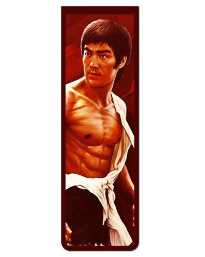 Marcador De Página Magnético Bruce Lee - MFI182