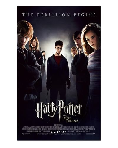 Ímã Decorativo Pôster Harry Potter 5 - IPF67
