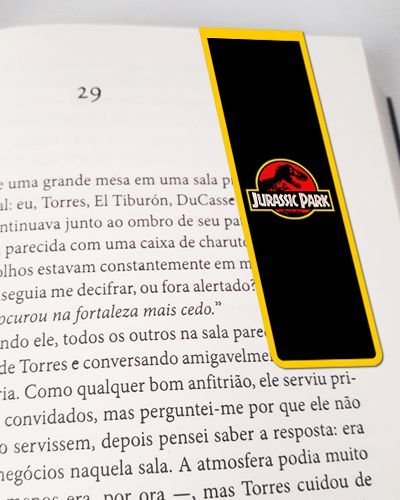 Marcador De Página Magnético Jurassic Park - MFI192