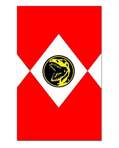Ímã Decorativo Ranger Vermelho - Power Rangers - ITOK15
