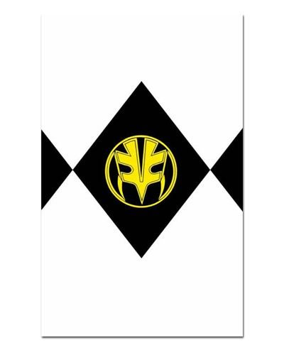 Ímã Decorativo Ranger Branco - Power Rangers - ITOK16