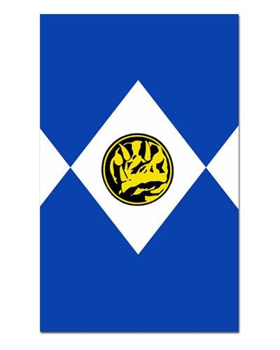 Ímã Decorativo Ranger Azul - Power Rangers - ITOK21