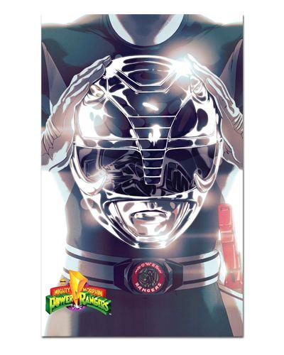 Ímã Decorativo Ranger Preto - Power Rangers - ITOK25