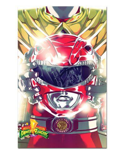 Ímã Decorativo Ranger Vermelho - Power Rangers - ITOK28