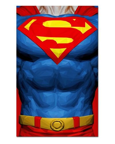 Ímã Decorativo Superman - DC Comics - IQD51