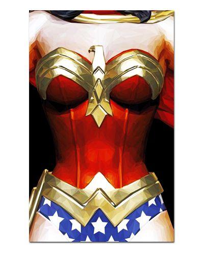 Ímã Decorativo Mulher-Maravilha - DC Comics - IQD52