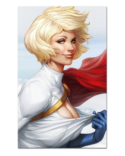 Ímã Decorativo Power Girl - DC Comics - IQD73