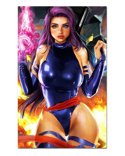 Ímã Decorativo Psylocke - X-Men - IQM56