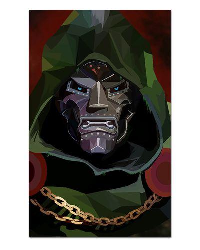 Ímã Decorativo Doutor Destino - Marvel Comics - IQM58