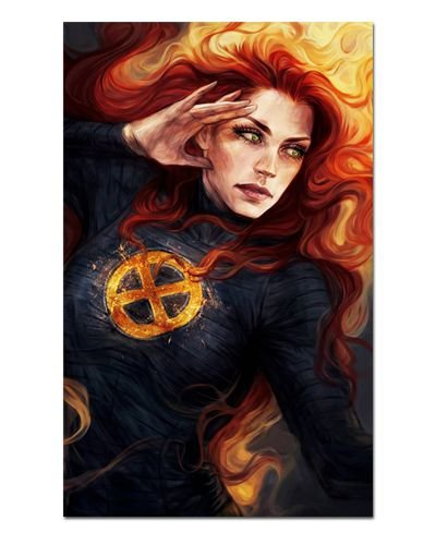 Ímã Decorativo Phoenix - X-Men - IQM77