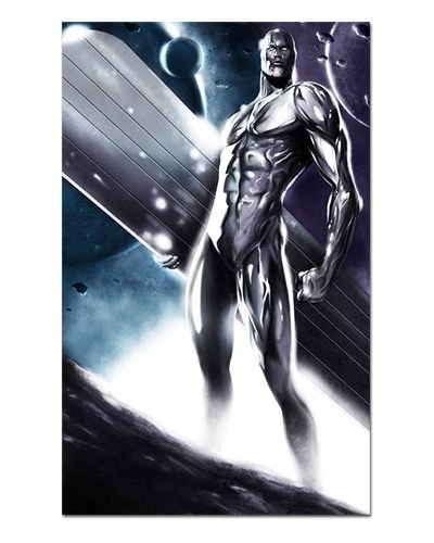 Ímã Decorativo Surfista Prateado - Marvel Comics - IQM76