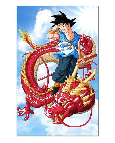 Ímã Decorativo Son Goku Red Dragon - Dragon Ball - IDBZ03