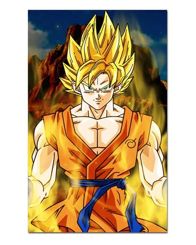 Ímã Decorativo Goku SSJ - Dragon Ball - IDBZ07