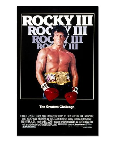 Ímã Decorativo Pôster Rocky III - IPF428