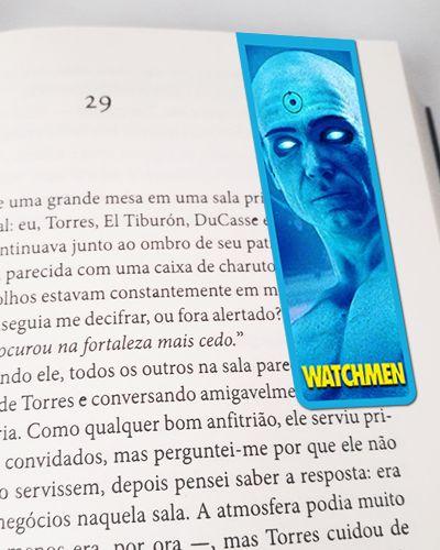 Marcador De Página Doutor Manhattan - Watchmen - MDC183