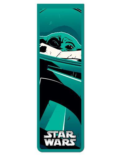 Marcador De Página Magnético Baby Yoda - Star Wars - MFI241