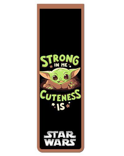Marcador De Página Magnético Baby Yoda - Star Wars - MFI243