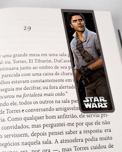 Marcador De Página Magnético Poe Dameron - Star Wars - MFI251