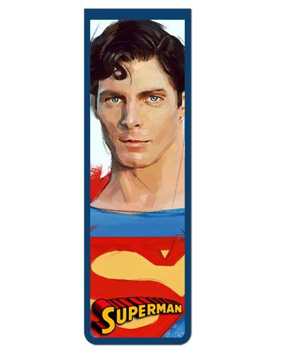 Marcador De Página Magnético Superman - MDC221
