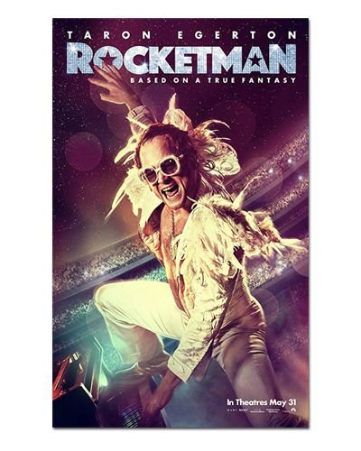 Ímã Decorativo Pôster Rocketman - IPF610