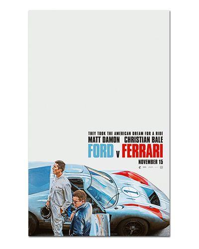 Ímã Decorativo Pôster Ford vs Ferrari - IPF600