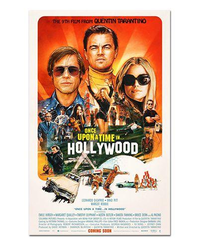 Ímã Decorativo Pôster Era Uma Vez Em... Hollywood - IPF603