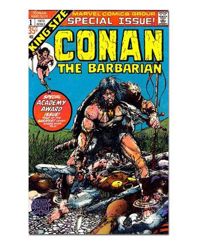 Ímã Decorativo Capa de Quadrinhos Conan - CQO05